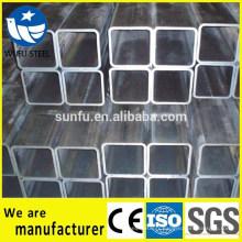 GB / T6728 section creuse / SHS carré S235JR tube en acier