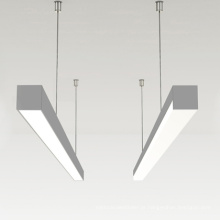 LED 150cm Instalação de suspensão leve linear 45w 5 anos de garantia