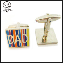 Best Dad man cufflinks metal