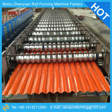 13-65-850 aluminum corrugated sheet machine,850 corrugated sheet metal roofing forming machine