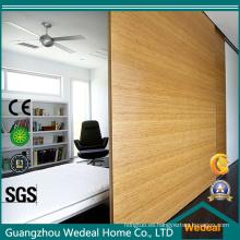 Personalizar la puerta corrediza de madera corrediza con herrajes