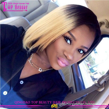 Paypal Accepted Online Stores Top Beauty Human Hair Remy Ombre Bob Wigs