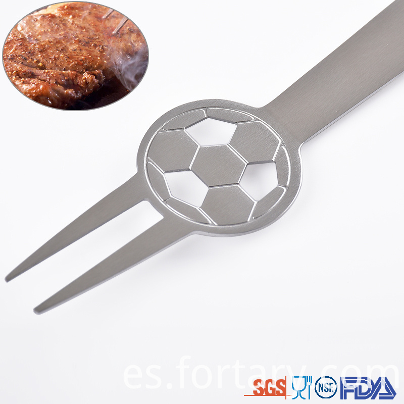 Football shape Bbq Tools set