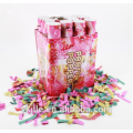 Romantic Hand Held Party Popper Supply Paper Wedding Confetti Cannon
