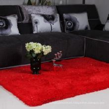 Home Textile Red Silk Carpet Mat Dmy-27