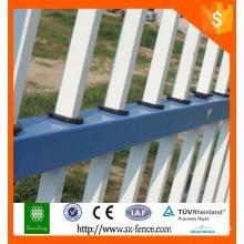 Tubo quadrado profissional tubo de ferro decorativo cerca