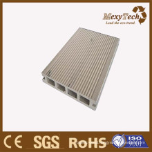 Mix Color Grain WPC Composite Wood Hollow Decking