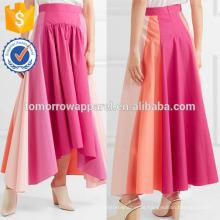 La nueva moda imprimió la falda maxi del abrigo de lino DEM / DOM Fabricación al por mayor Ropa de las mujeres de la moda (TA5145)