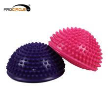 Comercio al por mayor Fitness Fitness Hemisphere Massage Balance Ball