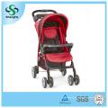 Faltbarer Baby-Kinderwagen mit verstellbarer Rückenlehne Großer Korb und Dinner Plate (SH-B12)