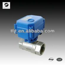 CWX-1.0 2 vias de mancha válvula de água de aço 2NM 3-6V 12V 24V