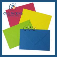 Enveloppes C6 multicolores pour cartes et invitations