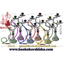Newest Design Mini Hookah Shisha Hookah With 2 Bowl For Wholesale