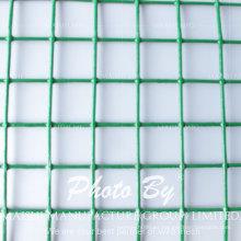 Malla de alambre soldada con autógena galvanizada 1/4 de la pulgada del PVC