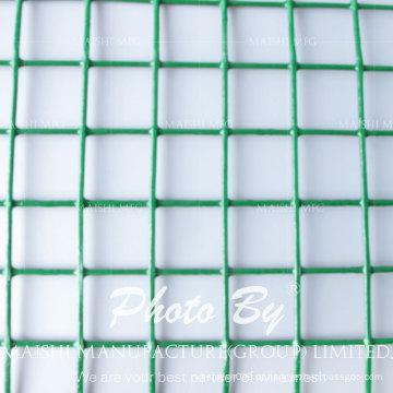 O PVC revestiu a rede de arame soldada galvanizada 1/4 de polegada