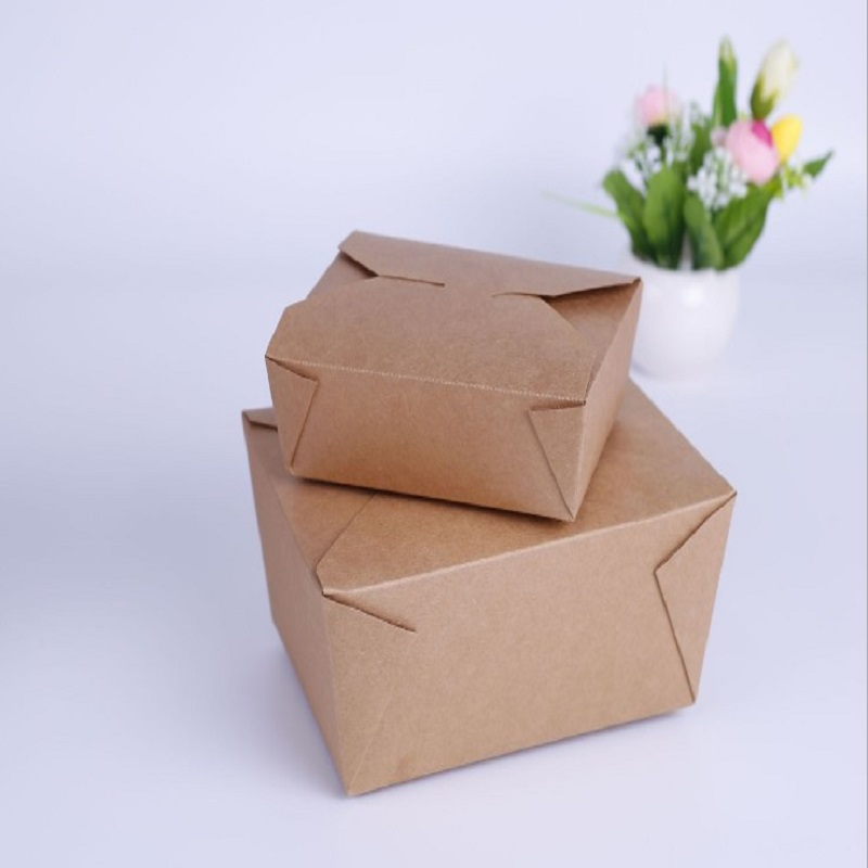 Paper Food Packing Boxes Jx