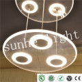 2015 Новый декоративный алюминиевый подвесной светильник Современный металлический подвесной подвесной светильник для столовой