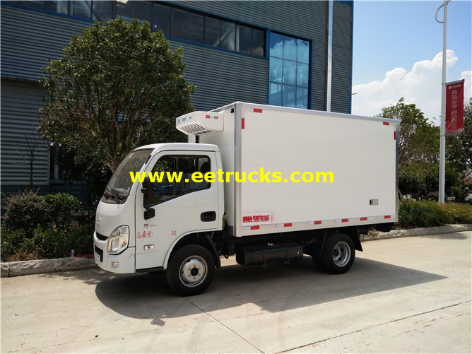2 Ton Insulated Box Vehicles