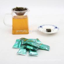 Natural organic slimming green tea blocks, high quality health tea