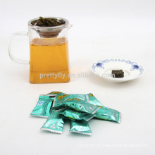 Natural orgânico slimming blocos de chá verde, chá de alta qualidade da saúde