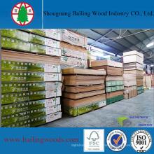 Stock de madera contrachapada comercial precio barato
