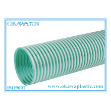 Leichtgewicht PVC Grün Farbsaugschlauch für Landwirtschaft Transport