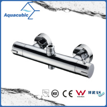 Sanitary Ware Bathroom Brass Chromed Thermostatic Faucet (AF9068-7)