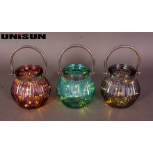 Furniture Decoration Light Glass Craft with Copper String LED Lighting (9110)