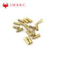 Gold Plated Banana Plug 3.5mm Bullet Connector
