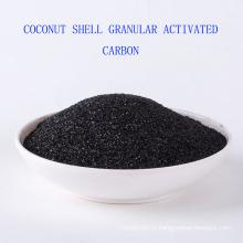 Utilisation de produits chimiques de traitement de l'eau et type absorbant Type de coquille de noix de coco charbon actif granulaire