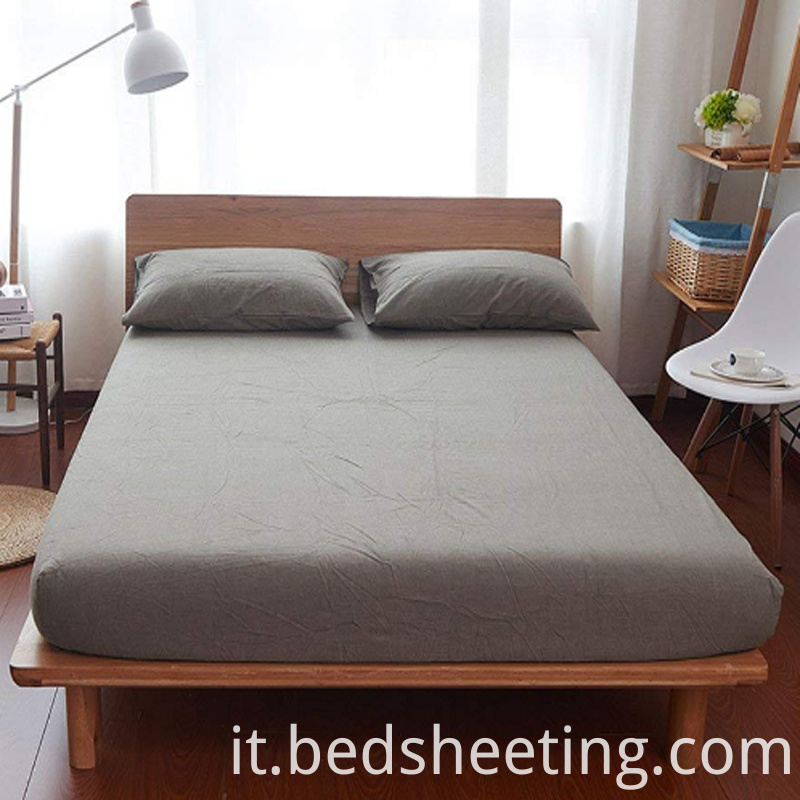 High Quality Cvc Percale Sheets Grey
