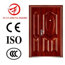 Doppelte Sicherheit Stahl Tür