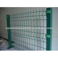 Supply pvc coated garden fence