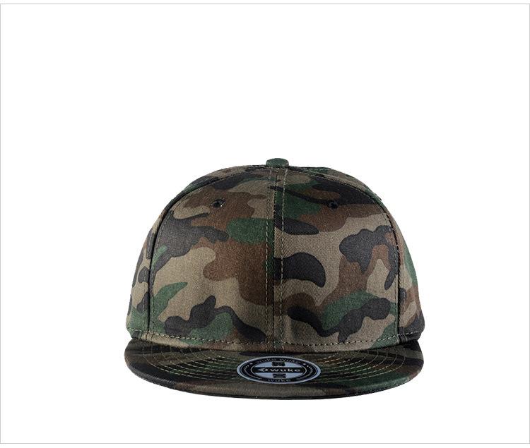 Camouflage hip-hop hat baseball hat man (5)