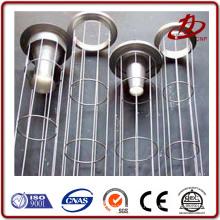 Filtro de filtro de polvo estándar ISO jaula de filtro revestida de plástico