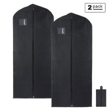 Double Use Zip Lock Hanging Travel Garment Bag