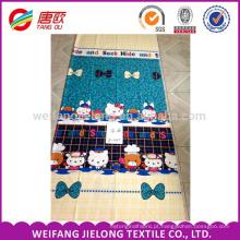 poliéster nylon mistura tecido mais barato para lençol