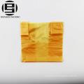 Желтый магазинам ПНД T-рубашка мешок с ручкой