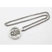 Neue Ankunfts-Art- und Weisesilber-lebende Locket-Halskette