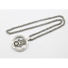 New Arrival Fashion Silver Living Locket Necklace