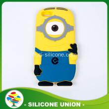 2016 chaud vente Silicone Anime 3D Cellphone Wallet