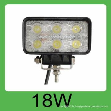 DC10-30V 18w 1650LM Led lampe de lumière de travail automatique