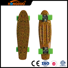 Latest technology cheap good 4 wheels fish skateboard for sale