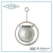 Válvula de retenção Swing Single Swing de aço inoxidável