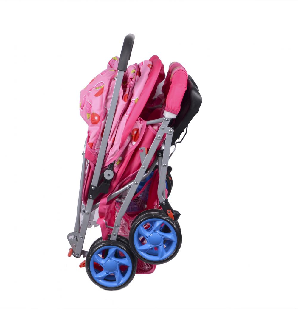 Thick and Soft Washable Baby Twins Stroller