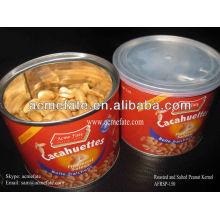 Sabor Secado Asado y Salado Cacahuete en lata para supermercado