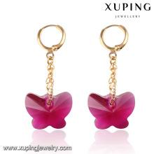 Cristales de elegancia de moda de Swarovski Wholesale Earrings Drop Earrings