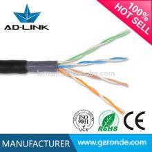 Prix câble usine double enveloppe cat5 câble