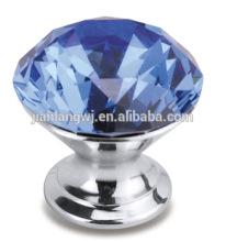 Jianlang door handle manufacturer crystal aluminum alloy crystal handle
