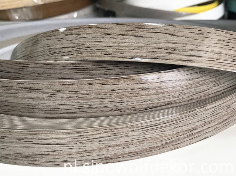 High Gloss Wood Abs Edge Banding
